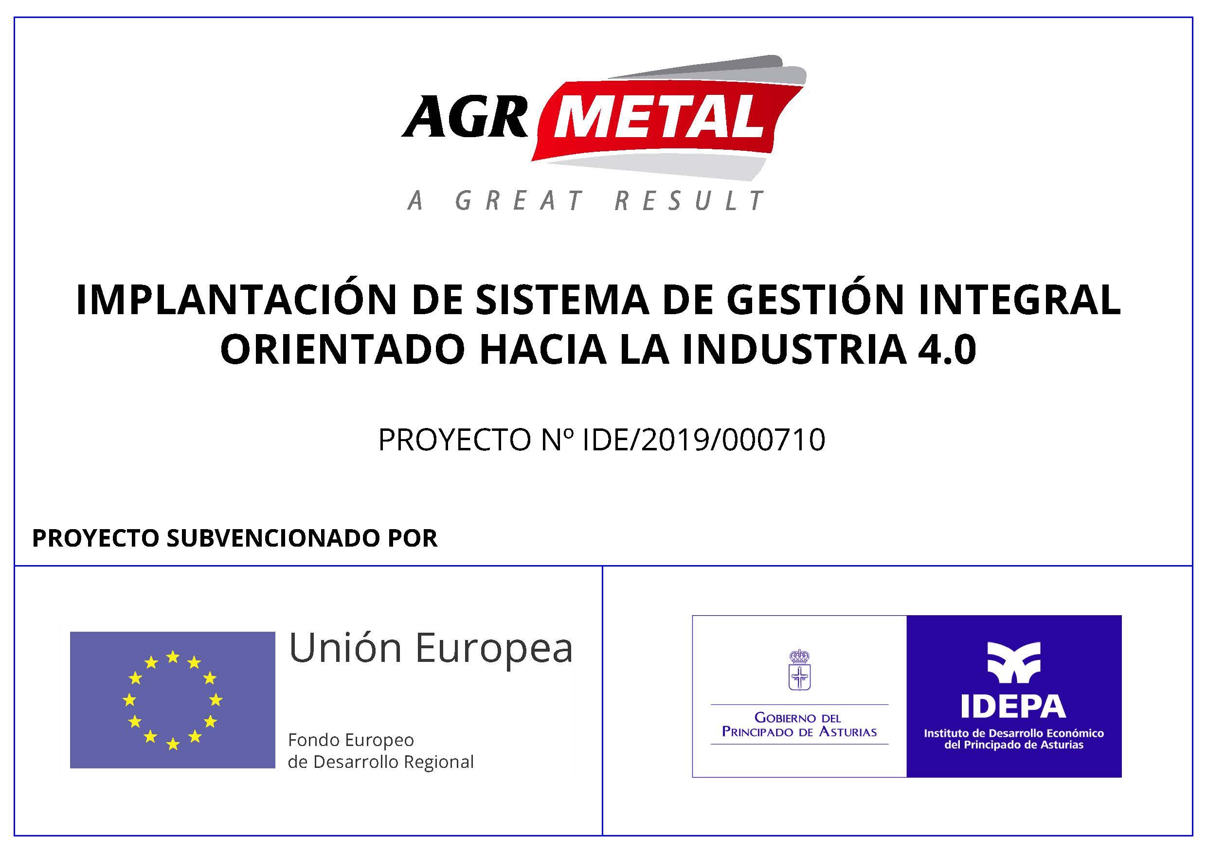 IMPLANTACIÓN DE SISTEMA DE GESTIÓN INTEGRAL ORIENTADO HACIA LA INDUSTRIA 4.0